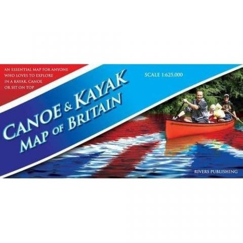 Canoe & Kayak Map of Britain from Northeast Kayaks