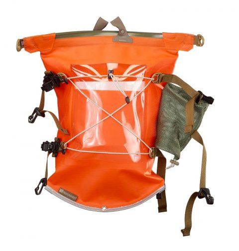 Watershed Aleutian Deck Bag Orange from Northeast Kayaks