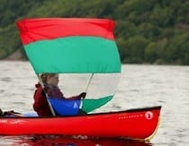 Down Wind Sail from Northeast Kayaks