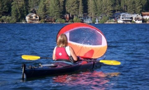 Windpaddle Scout Sail from Northeast Kayaks