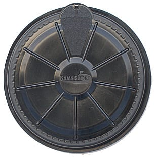 P & H Front Day Compartment Round Hatch Cover from Northeast Kayaks