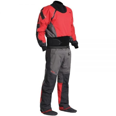 Nookie Charger Drysuit Front from Northeast Kayaks