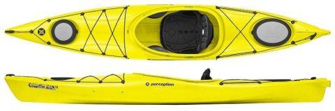 Perception Carolina 12 Yellow from Northeast Kayaks