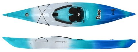 Perception Prodigy XS Sea spray from northeast kayaks