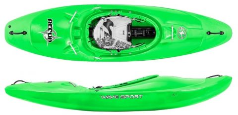 Wavesport Recon Core WhiteOut Cherry Bomb from Northeast Kayaks