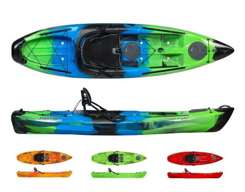 Wilderness Systems Tarpon 100 Lime from Northeast Kayaks