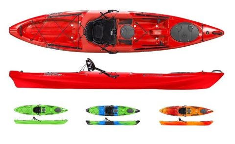 Wilderness Systems Tarpon 120 Red from Northeast Kayaks