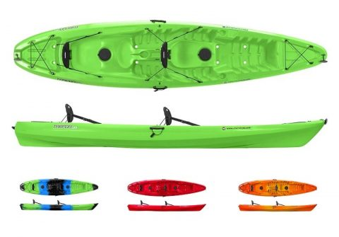 Wilderness Systems Tarpon E 130 Tandem Lime from Northeast Kayaks