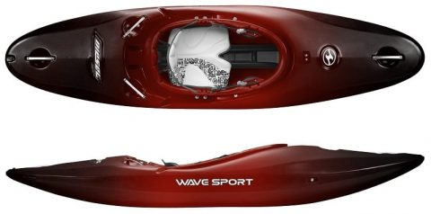 Wave Sport Diesel Whiteout Cherry Bomb Red Northeast Kayaks