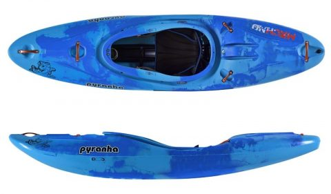 Pyranha Machno in Blue Crush colour scheme