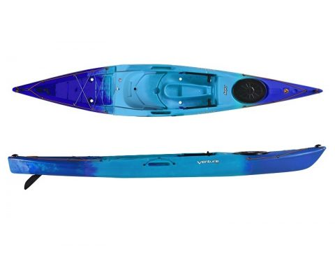 Islay 14 SOT Blue Crush from Northeast kayaks