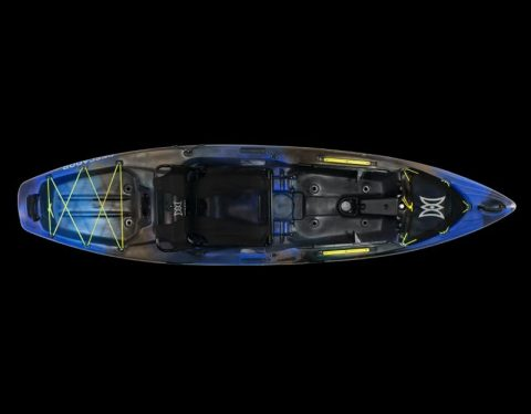 Perception Pescador Pro 10 Blue Camo from NorthEast Kayaks