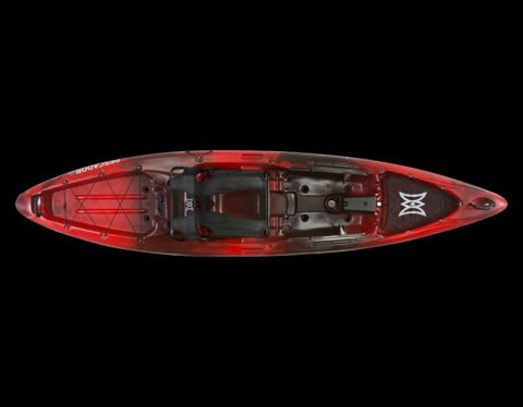 Perception Pescador Pro 12 red tiger camo from Northeast kayaks