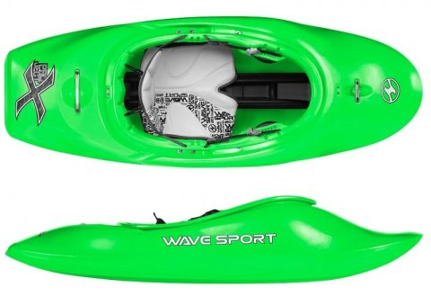 Wavesport Project X BlackOut citrus twist from Northeast Kayaks
