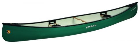Venture Prospector 165 Canoe Cruiser Corelite X side from northeast kayaks