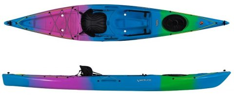 Venture Kayaks Islay 14 SOT Neon from Northeast Kayaks