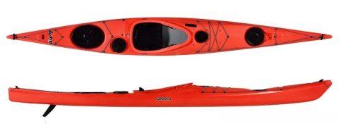 P&H Kayak Delphin 155 Corelite X Lava from Northeast Kayaks