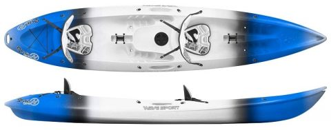 Wavesport Scooter Whiteout From NorthEast Kayaks