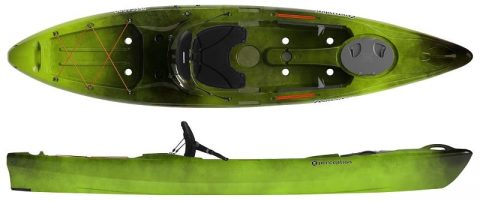 Perception Triumph 13 from Northeast Kayaks