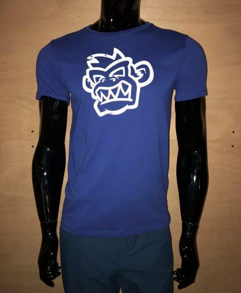 Kayak Monkey T-shirt Blue from Northeast Kayaks