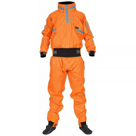 Peak Whitewater Drysuit Front from Northeast Kayaks