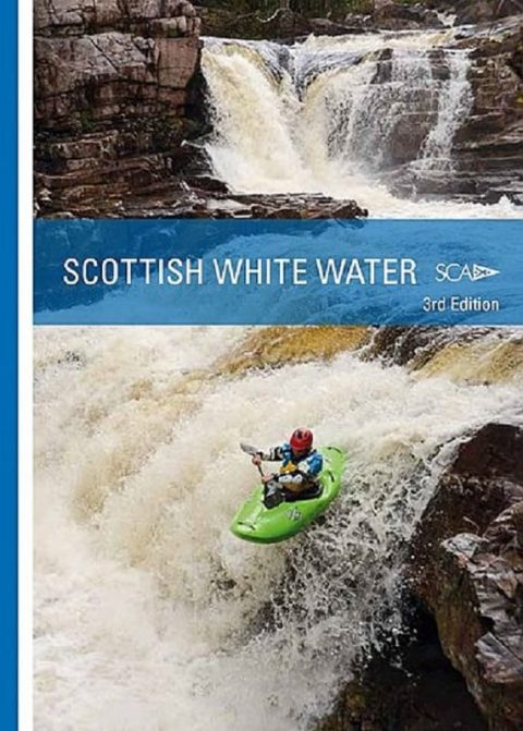 Scottish Whitewater 3rd Edition Guide Book from Northeast Kayaks