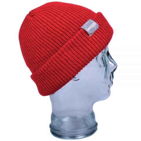 Dewerstone Dartmoor Flip Beanie Red from Northeast Kayaks