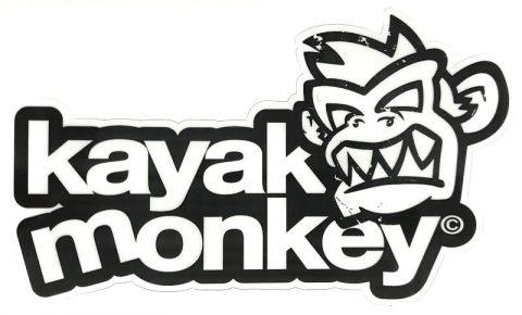 Kayak Monkey Logo Sticker from Northeast Kayaks