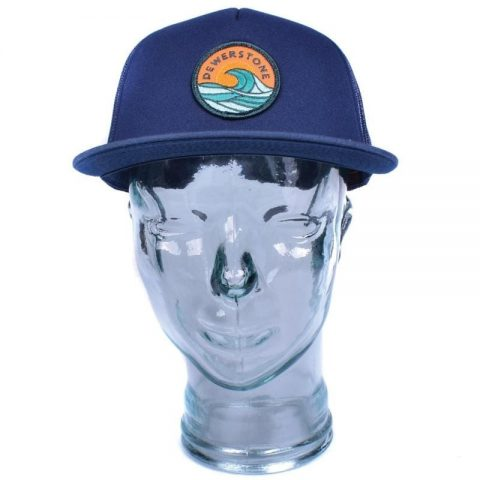 Dewerstone Wave Foam Trucker Snapback Cap from Northeast Kayaks