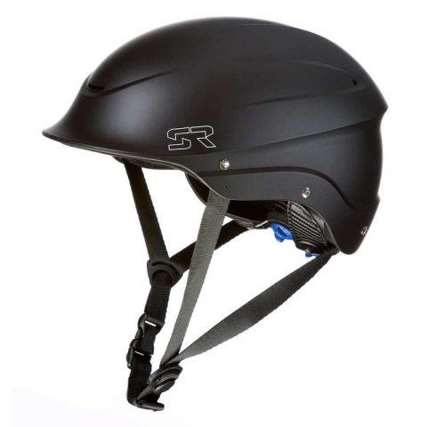 Shred Ready Half Cut Kayak Helmet Matte Black from Northeast Kayaks
