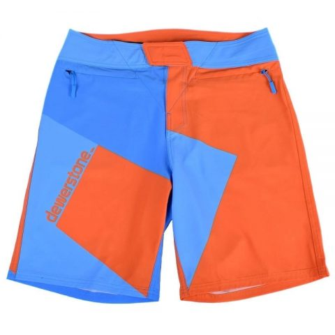 Dewerstone Life Shorts 2.0 Blue/Orange Team Edition from Northeast Kayaks