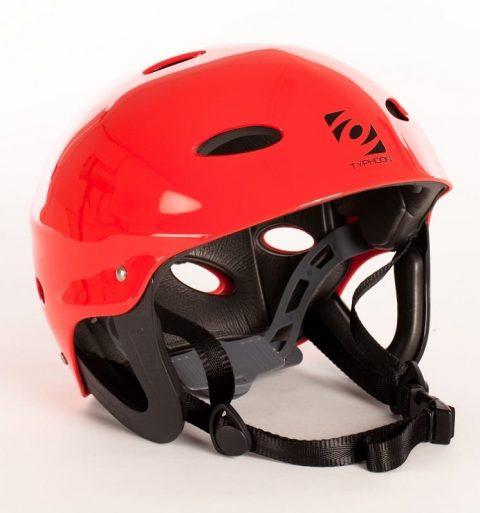 Typhoon Watersports Helmet Red from Northeast Kayaks