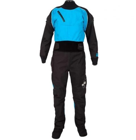 Kokatat Icon Gore-Tex Drysuit Womens Electric Blue From Northeast Kayaks