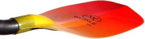 Werner Surge Straight Glass Kayak Paddle from Northeast Kayaks