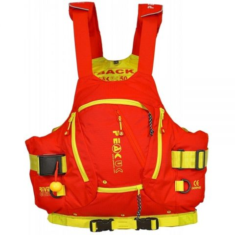 Peak River Guide PFD/Buoyancy Aid Red - Womens-0