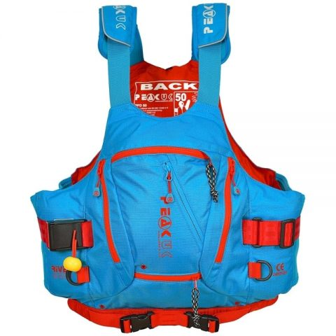 Peak River Guide PFD/Buoyancy Aid Blue - Womens-0