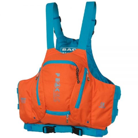 Peak UK River Vest PFD/Buoyancy Aid Orange - Womens-0