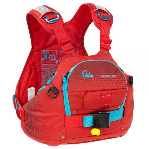 Palm Nevis PFD / Buoyancy Aid Flame/Chilli from Northeast Kayaks