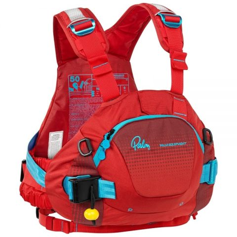 Palm FXr PFD / Buoyancy Aid Flame/Chilli from Northeast Kayaks
