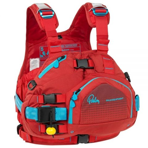 Palm Extrem Womens PFD / Buoyancy Aid Flame/Chilli from Northeast Kayaks