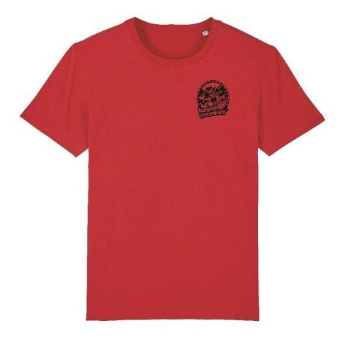 Kayak Monkey T-shirt Red from Northeast Kayaks