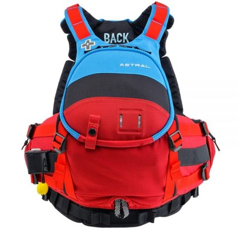 Astral Green Jacket PFD/Buoyancy Aid Blue Black Red Rugby-0