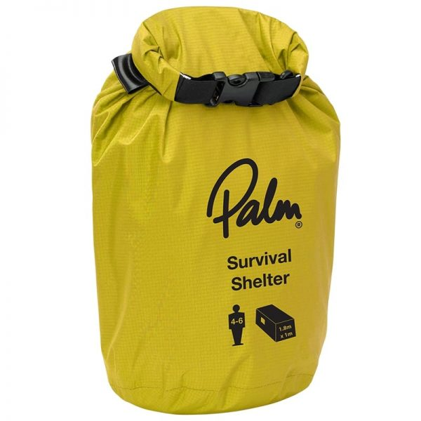 Palm Survival Shelter Flame 4-6 persons drybag